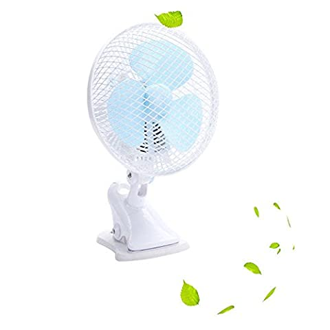 Clip Fan Design Air Cooling Desk Small Fine Elements Is Extremely Versatile And Can Be Used In The Home, - Duracraft Fan