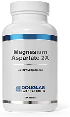 Douglas Laboratories - Magnesium Aspartate 2X - Elemental Magnesium and Potassium for Cardiovascular Support* - 250 Tablets
