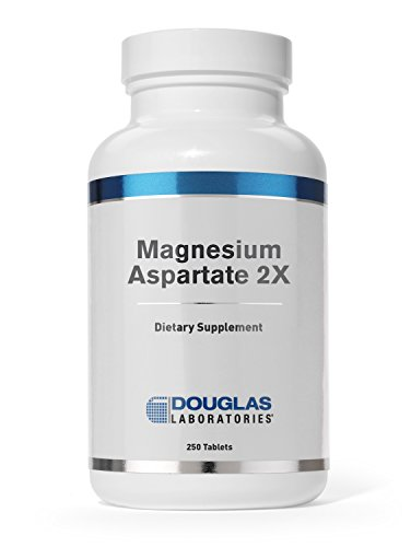 Douglas Laboratories - Magnesium Aspartate 2X - Elemental Magnesium and Potassium for Cardiovascular Support* - 250 Tablets