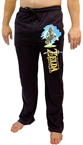 The Legend of Zelda Link Men's Black Sleep Pant (Medium)]()