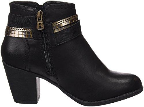 Refresh Botin Sra. C. Negro, Zapatos de Tacón para Mujer NEGRO