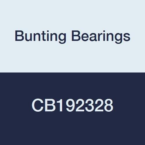 Flanged Sleeve Bearing - Bunting Bearings CB192328 Sleeve (Plain) Bearings, Cast Bronze C93200 (SAE 660), 1-3/16