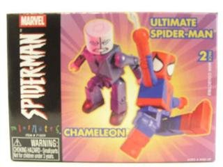 Marvel MiniMates Series 7 Chameleon Ultimate SpiderMan
