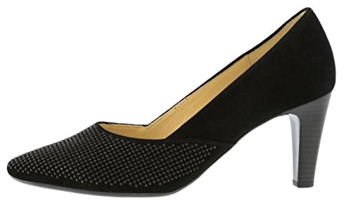 Black Shoes Court Women's Gabor Black fwHvznqA