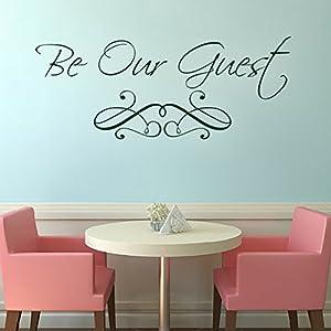 Amazoncom Custom Vinyl Wall Quotes Guest Bedroom Wall Decal - Dining room vinyl wall quotes
