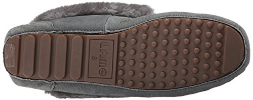 Charcoal Moc Ausie Women's On Slip Lamo Loafer wxYEnfwq