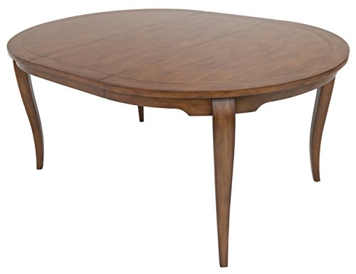 Impacterra Woohee Oval Extendable Dining Table, Tudor (Oval Extendable Table)
