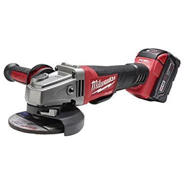 Milwaukee 2780-21 M18 FUEL 18-Volt 4-1 / 2-Inch to 5-Inch Grinder with 5.0 Battery