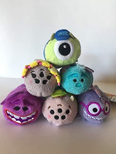 Plush Disney Monster's University Tsum Tsum Set of 6 Exclusive 3.5-Inch Mini