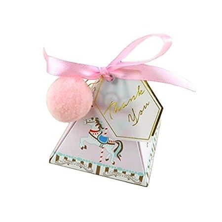 XYao - Cajas para Caramelos con diseño de Unicornio para ...