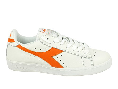 Pompes Blanc Game Low Adulte Orange Waxed Mixte Tropical Plateforme L Plate White Diadora À Tw1IWZvxIq
