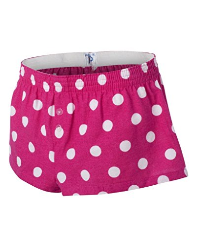 Boxercraft Ladies' Bitty Boxer, S, Hot Spot Fuchsia