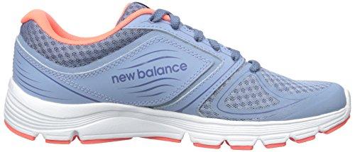 Mujer Zapatillas New Fitness para Coral Gray Running Balance W575 de Deporte Blue 8q8O4
