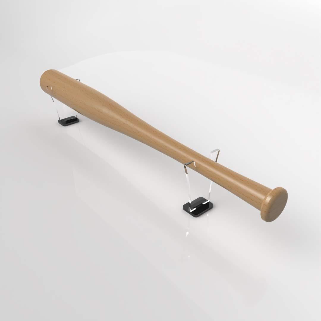 Plexico Autonome Batte de Baseball Batte de Baseball Support/Support avec Base Noire