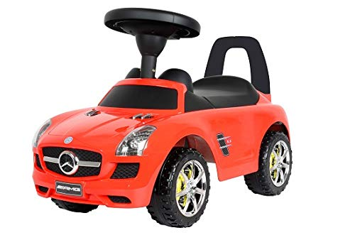 rcedes Benz Push Car, Red ()