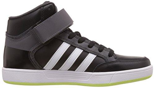 adidas - Zapatillas de cuero para hombre negro negro - schwarz - weiß - grau