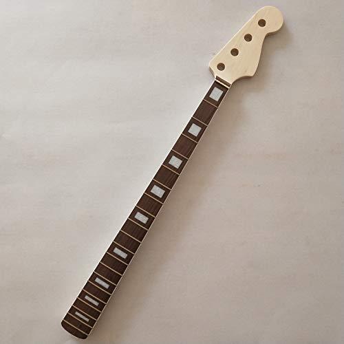 FidgetFidget - Cuello de arce sin terminar para guitarra eléctrica, para jazz, bajo o guitarra