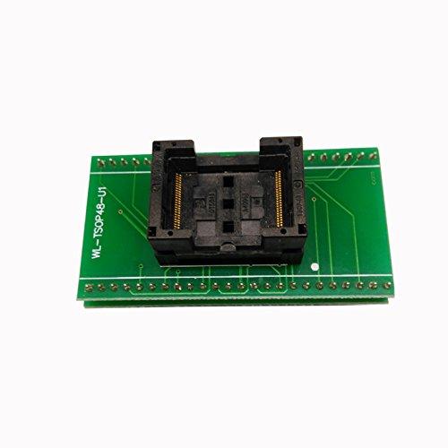 Standard TSOP48-0.5 Open Top Programming Socket IC Test Socket Flash Programmer Adapter TSOP48 socket