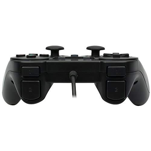 Snakebyte Wired Controller - Gamepad Including Vibration & Turbo Feature - Cable Length: 2m - Black - PlayStation 3