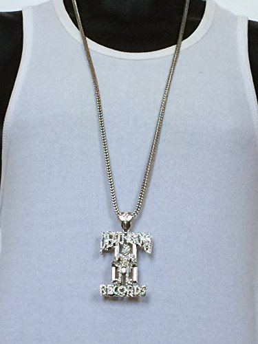 Mens iced out hiphop silver tupac deathrow records pendant franco save aloadofball Choice Image