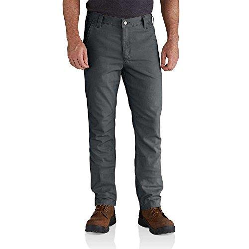Canvas Dungaree - Carhartt Men's Rugged Flex Rigby Straight Fit Pant, Shadow, 42W X 30L