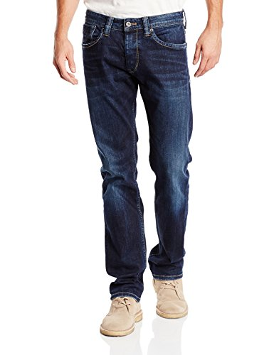 Pepe Jeans Mens Straight Cash Jeans, Length 32 Other Size 34 Length 32 (Us) (Dresses Jeans Pepe)