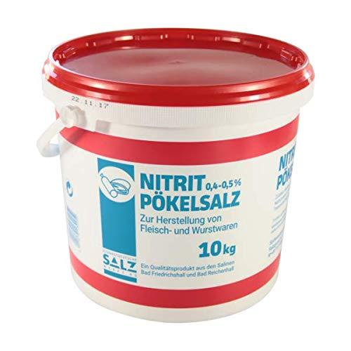 Südwestdeutsche Salzwerke AG Siede - Nitritpökelsalz | 0,4 - 0,5% Natriumnitrit | für Fleisch- und Wurstwaren (10)