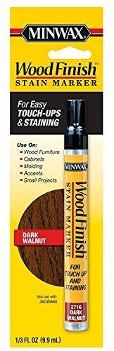 Minwax 63487 Wood Finish Dark Walnut Stain Marker Interior Wood (2, 2) ...