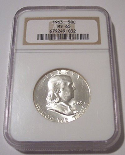 1963 Franklin Half Dollar MS65 NGC