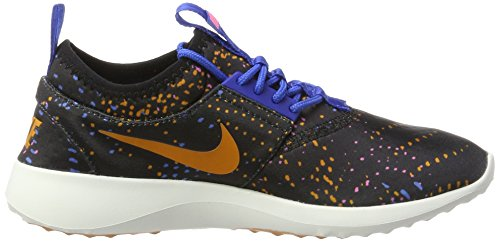 Nike Womens Juvenate Print Scarpa Casual Nero / Tramonto-gym Royal-dgtl Rosa