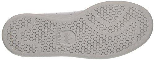 adidas Unisex-Kinder Stan Smith J Sneakers Elfenbein (Ftwr White/ftwr White/core Black)