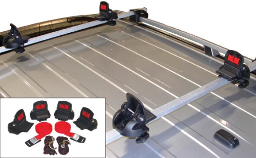 Malone Big Foot Pro Universal Car Rack Canoe Carrier with Bow and Stern Lines, Outdoor Stuffs