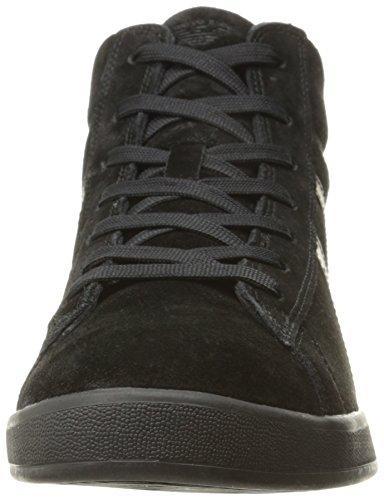 Armani Jeans Heren Sneaker Hoog Uitgesneden Hoge Zwarte (nero)