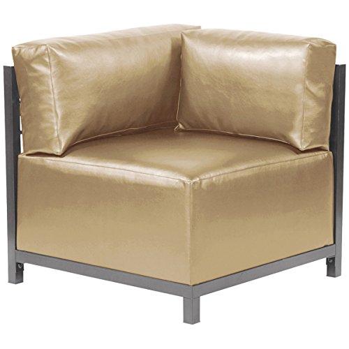 Howard Elliott 921-771 Axis Corner Chair Slipcover, Luxe Gold (Chair Axis)