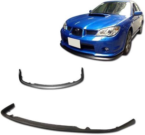 Aeroxx BLF-SUIP06CS2 2006 to 2007 Subaru Impreza WRX STi Style Polyurethane Front Bumper Lip