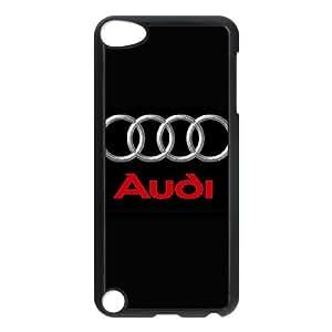 L5U12 AUDI R1O1HM funda iPod Touch 5 caso funda Cubierta Negro AK2PWG5RN