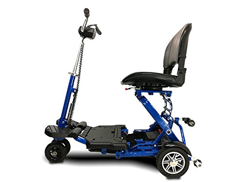 MiniRider Folding is a compact mobility scooter, Indoor/Outdoor use, Easy Pull Throttle, Key...