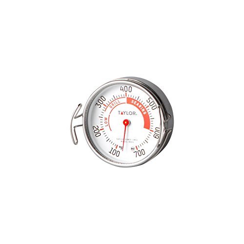 Taylor Precision Products Classic Line Grill Guide Thermometer (100- to 700-Degrees Fahrenheit)