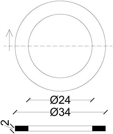 acquastilla 114089/Gaskets for Gas DIN 3535