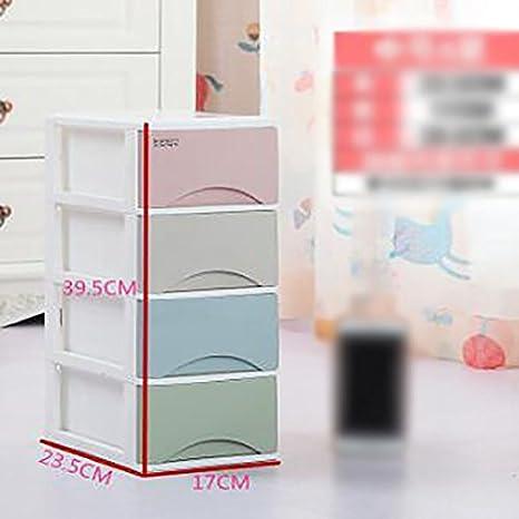 xueyan& Plásticos Caja de Almacenamiento Armario de Almacenamiento Caja de Almacenamiento Oficina Escritorio Pequeño Cajón Plásticos