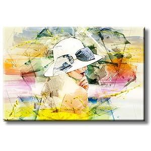 416USVrd3PL._SS300_ Beach Paintings & Coastal Paintings