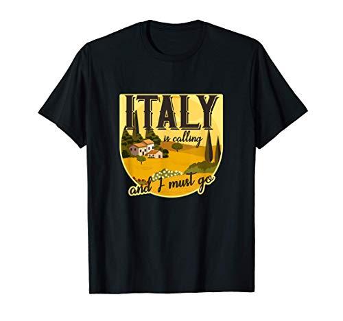 Italia esta llamando y debo ir Toscana Roma Italia Cami