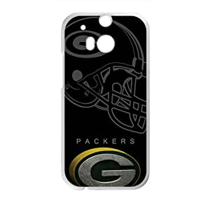 Packers StylishHigh Quality Comstom Plastic case cover For HTC M8