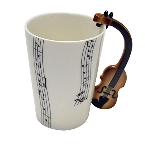 Giftgarden Ceramic Coffee Violin Handle product image