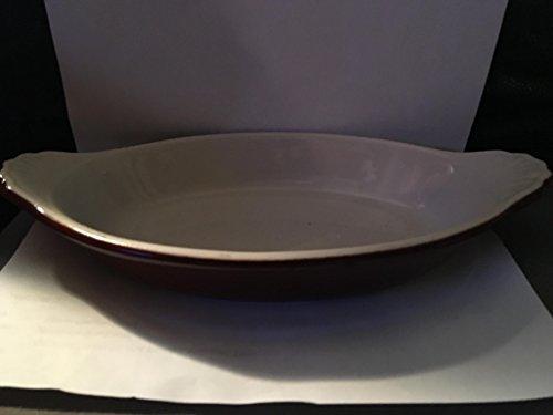 - Hall China Brown 12 Oz. Welsh Rarebit / Au Gratin Dish