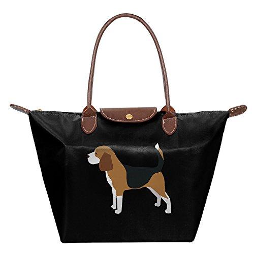 Ladies BEAGLE DOGS PETS Large Tote Bags,Multifunction Waterproof Shoulder Handbags With Zipper