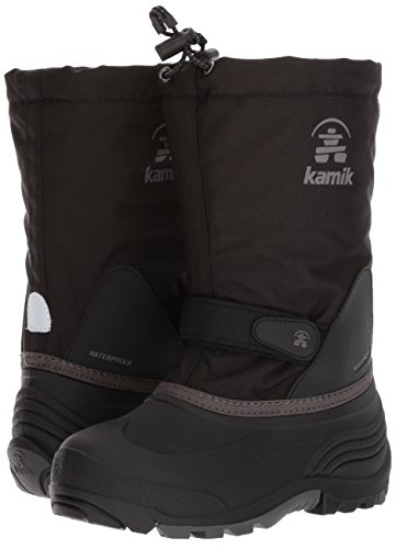 Pictures of Kamik Girls' Waterbug5 Snow Boot Black/Charcoal NK4771S 4