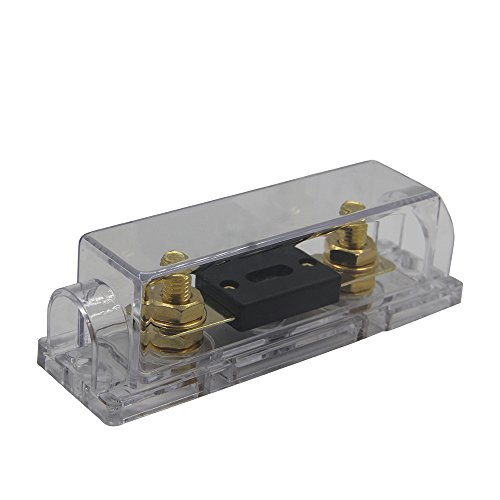 ZOOKOTO 0/2/4 Gauge Fuse Holder with 250 Amp ANL Fuse by ZOOKOTO