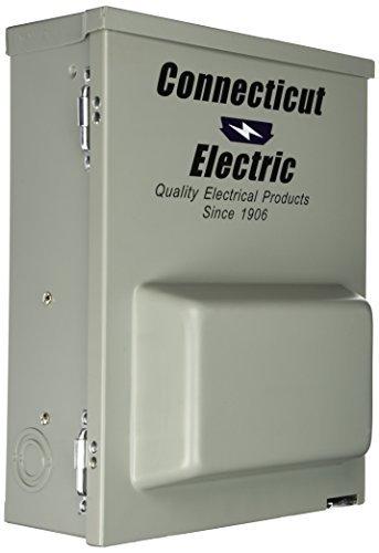 Connecticut Electric CESMPSC75GRHR 80-Amps/120240-Volt Circuit Protected RV Power Outlet by Connecticut Electric