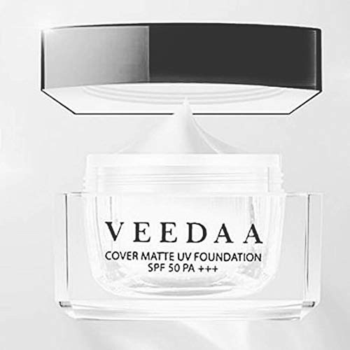 VEEDAA Cover Matte UV Foundation SPF 50 PWhitenning Set White Skin Reduce Freckl shades 01. Light - For white skin.
